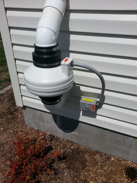 Radon gas mitigation Muir Pa